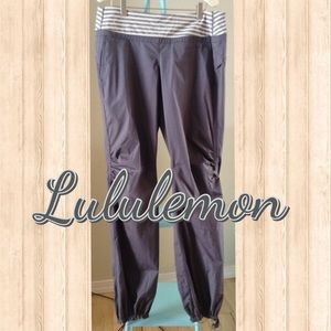 EUC Lululemon Gray Track Pants